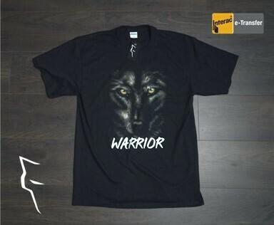 Warrior Wolf - Basic fit tee