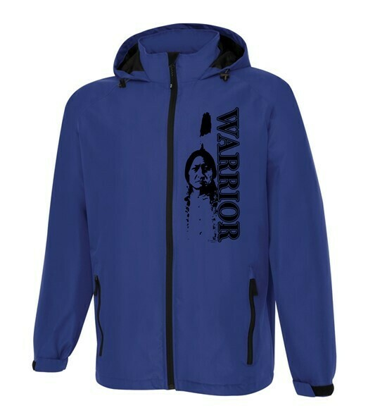 Sittingbull Warrior - All Season Rain Jacket royal blue