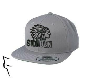 Skoden -Classic Snapback silver w black