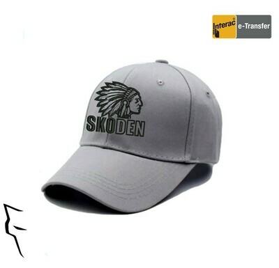 Skoden mid profile hat - silver
