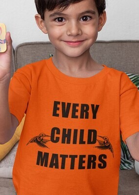 Every Child Matters - Youth  tee orange