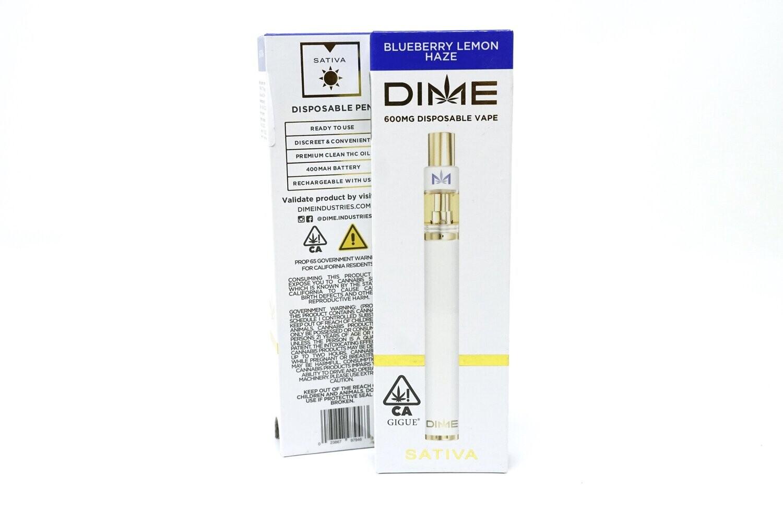 DIME Disposable - Blueberry Lemon Haze 600mg