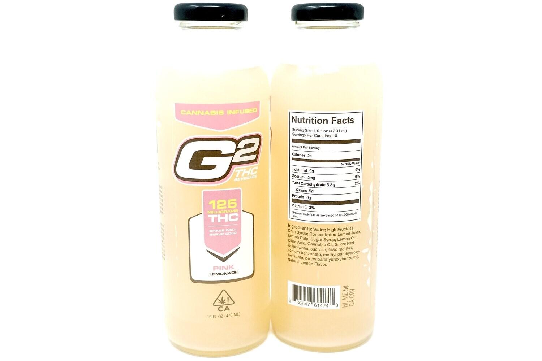 G2 Pink Lemonade - 125mg