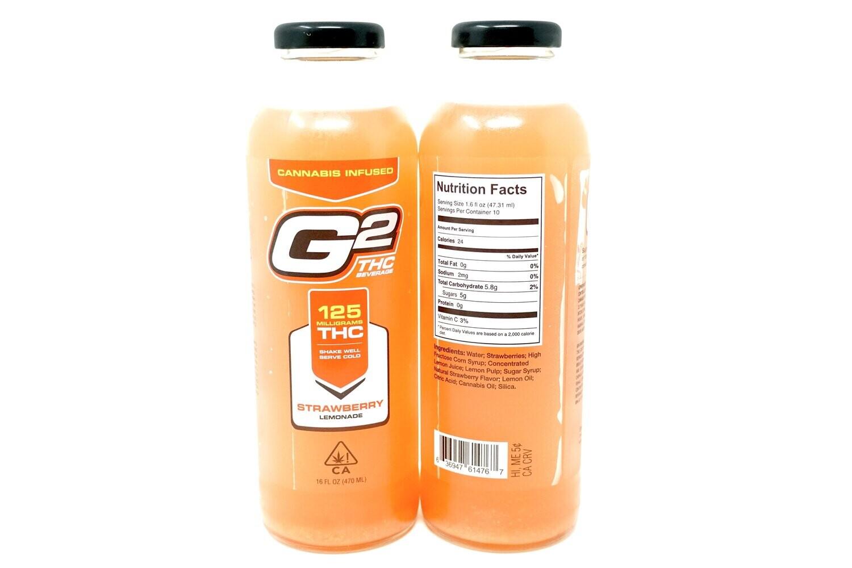 G2 Strawberry Lemonade - 125mg