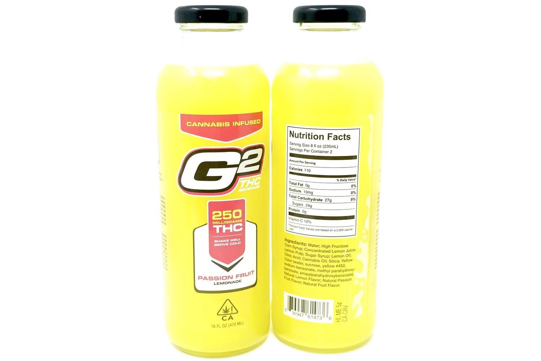 G2 Passion Fruit Lemonade - 250mg