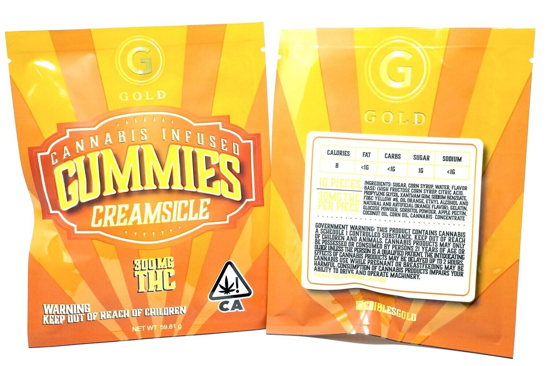 Gold Gummies Creamsicle 300mg
