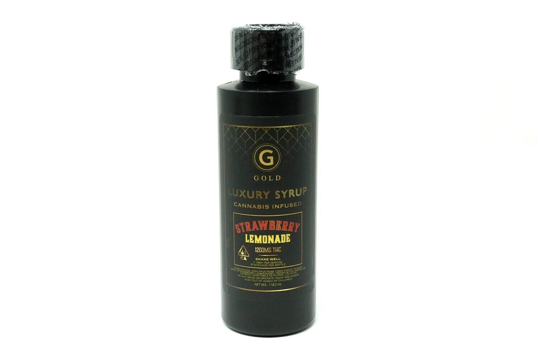 Gold Syrup - Strawberry Lemonade 1200mg