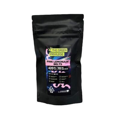 Green Privilege - Pink Lemonade Belts 420mg