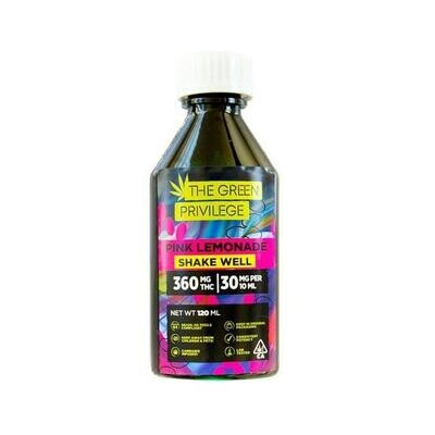 Green Privilege Syrup - Pink Lemonade 1200mg