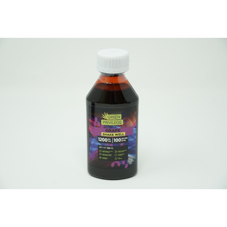Green Privilege Syrup - Grape 1200mg