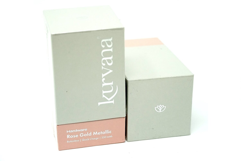 Kurvana Battery - Rose Gold Metallic
