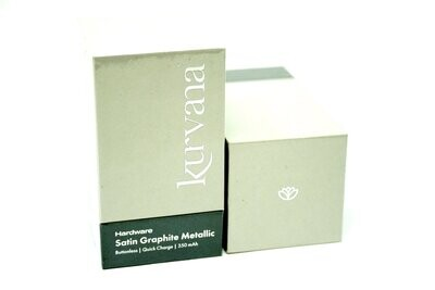 Kurvana Battery - Satin Graphite Metallic