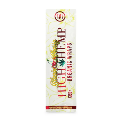 High Hemp - Blazing Cherry Organic Wraps