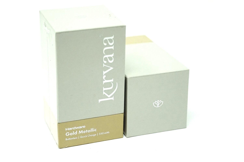 Kurvana Battery - Gold Metallic