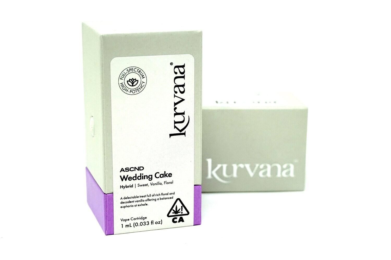 Kurvana ASCND - Wedding Cake 1000mg