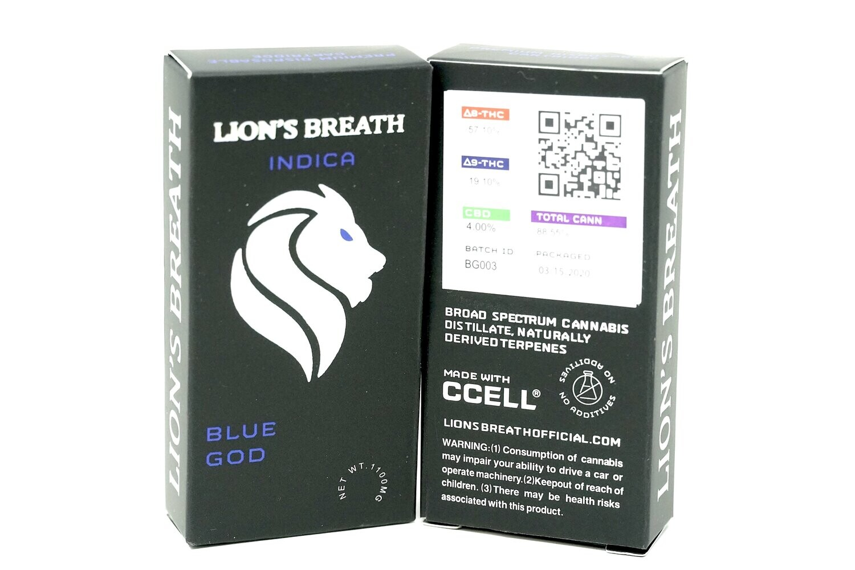 Lion's Breath - Blue God 1000mg