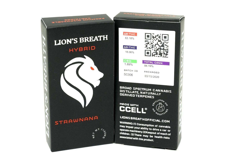Lion's Breath - Strawnana 1000mg