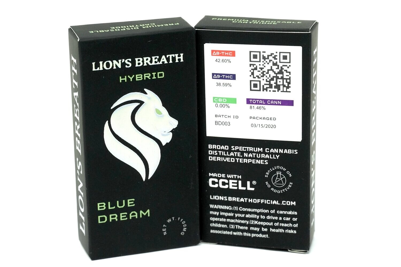 Lion's Breath - Blue Dream 1000mg