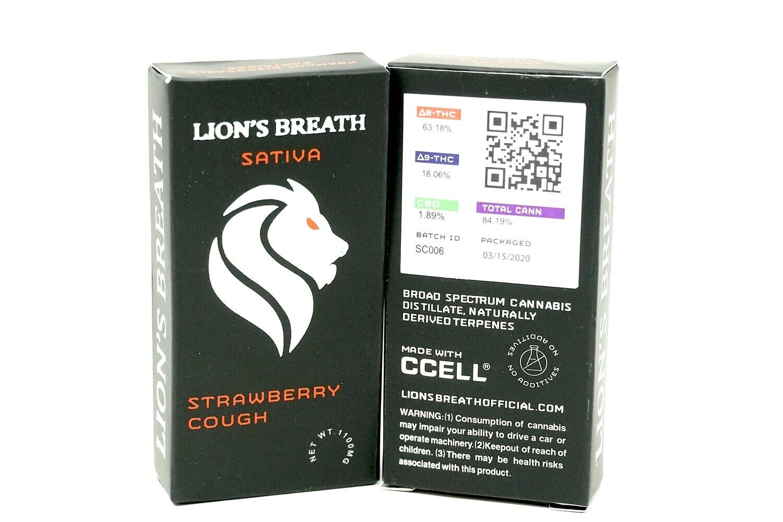 Lion's Breath - Strawberry Cough 1000mg