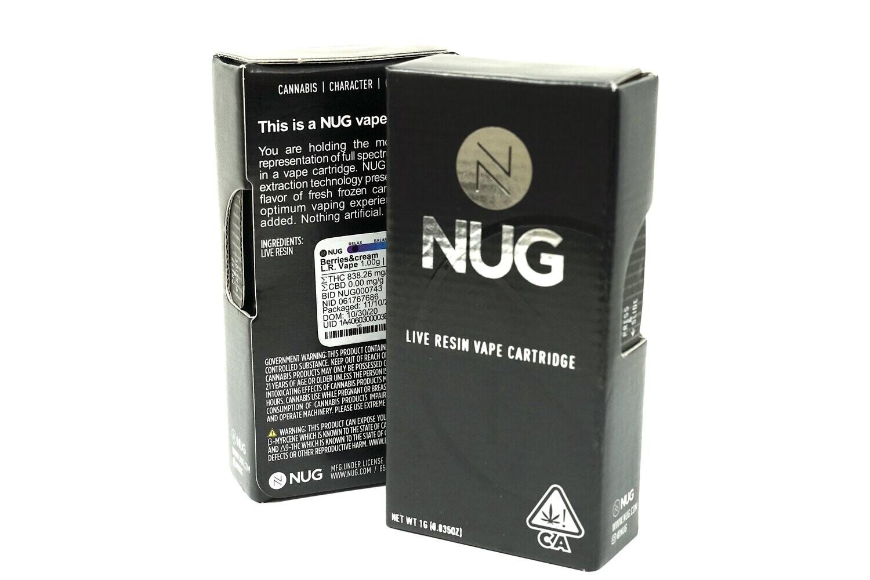 NUG Cart - Berries & Cream 1000mg