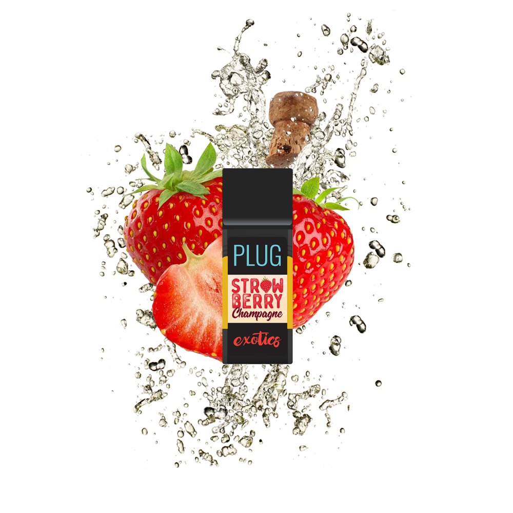 PlugPlay Exotics - Strawberry Champagne 1000mg