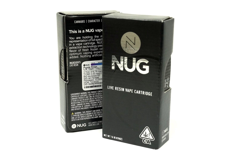 NUG Cart - Purple Reign 1000mg