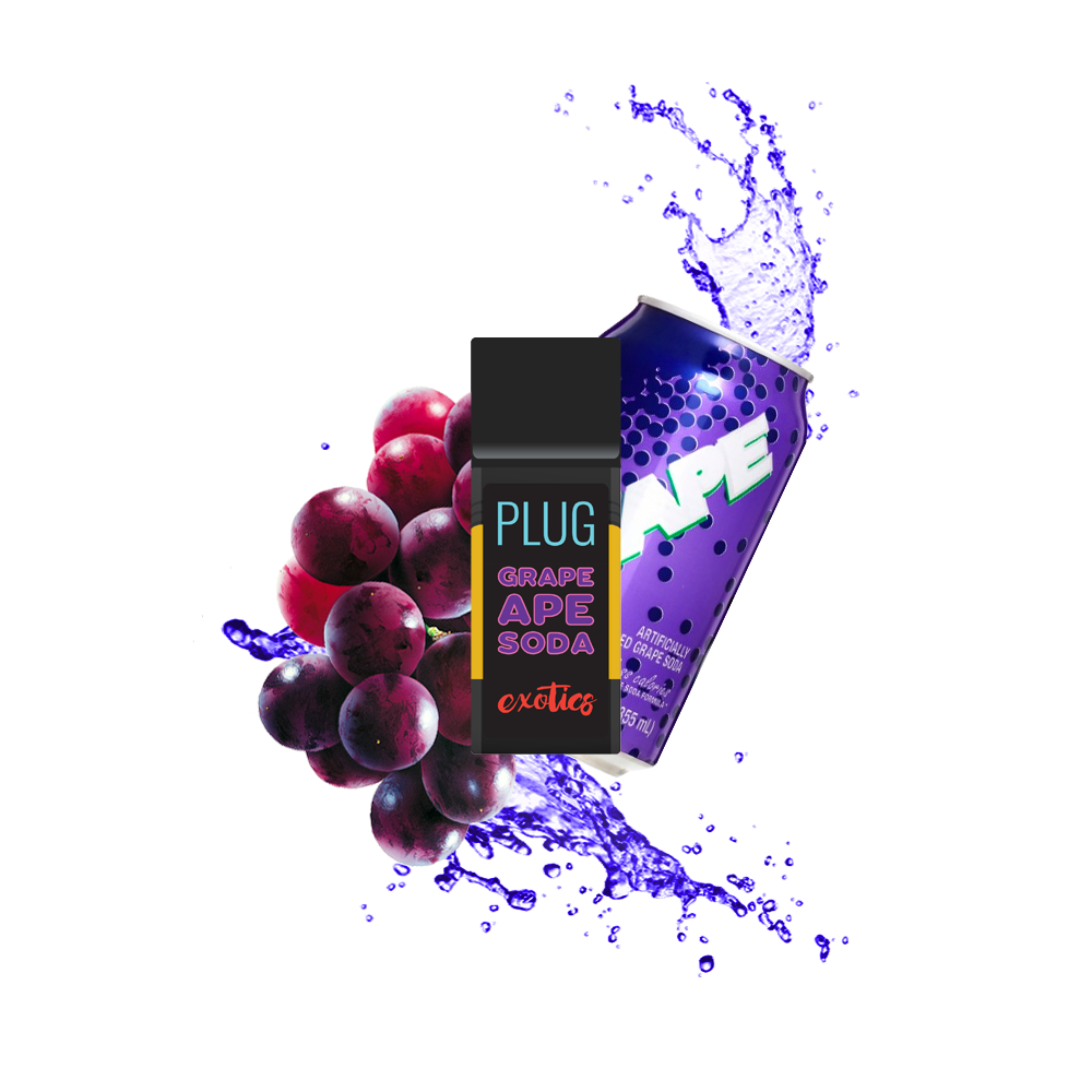 PlugPlay Exotics - Grape Ape Soda 1000mg