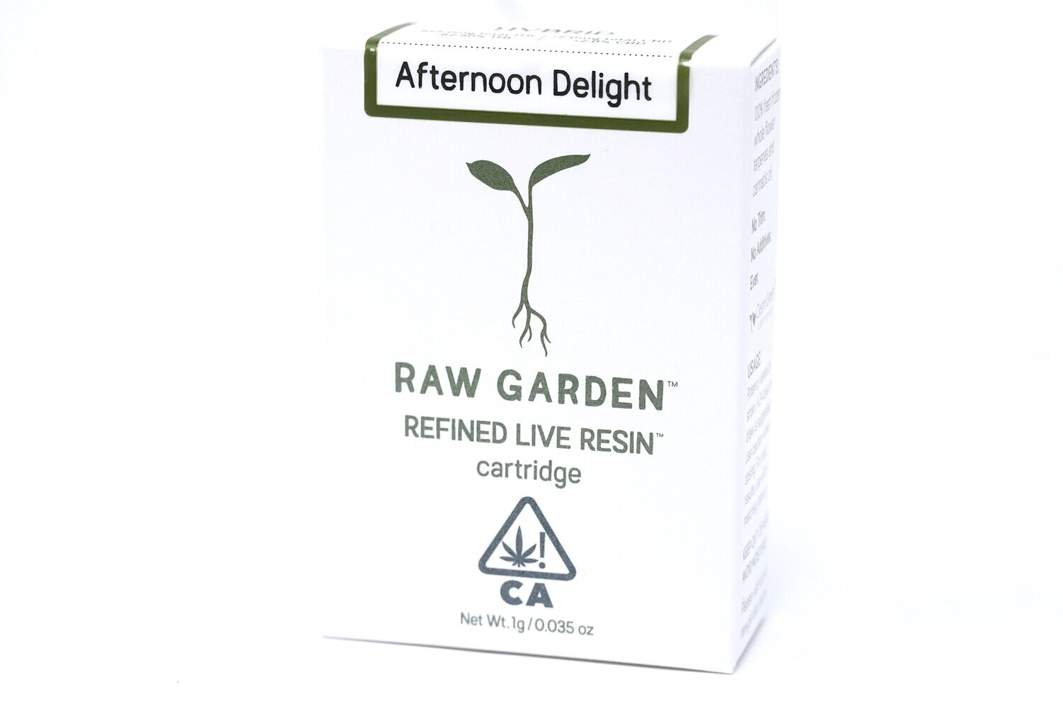 Raw Garden - Afternoon Delight 1000mg