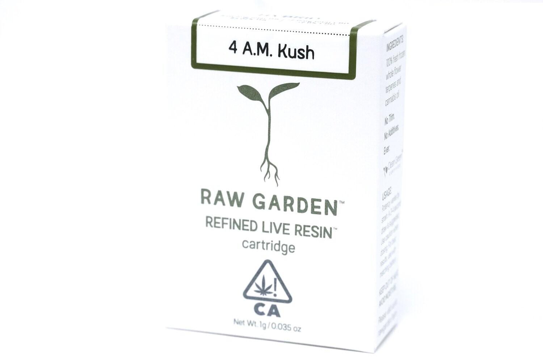 Raw Garden - 4 AM Kush 1000mg