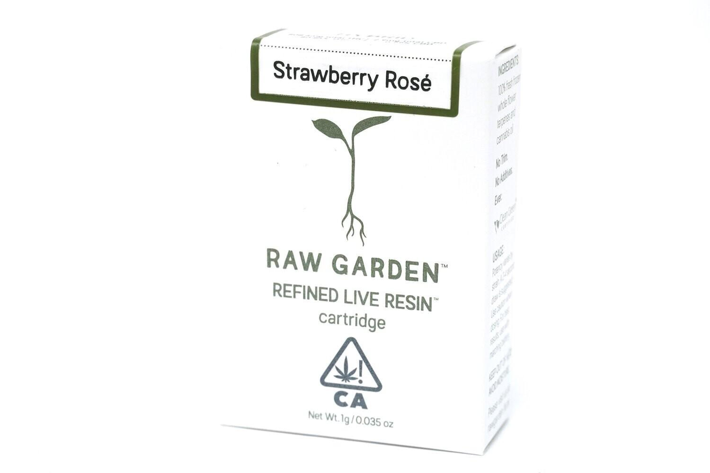 Raw Garden - Strawberry Rose 1000mg