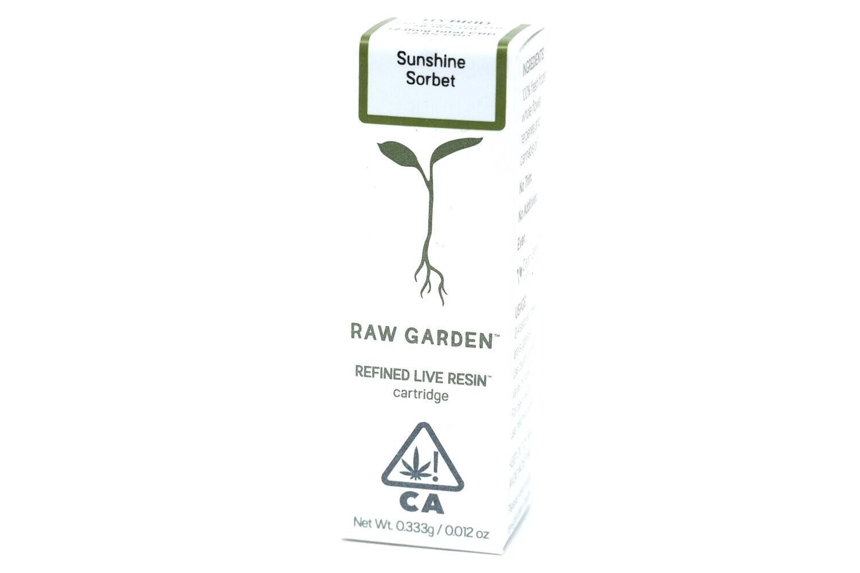 Raw Garden Taster - Sunshine Sorbet 300mg