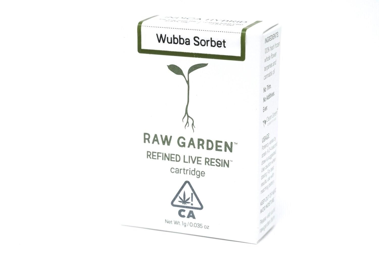 Raw Garden - Wubba Sorbet 1000mg