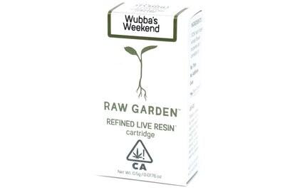 Raw Garden - Wubba's Weekend 500mg