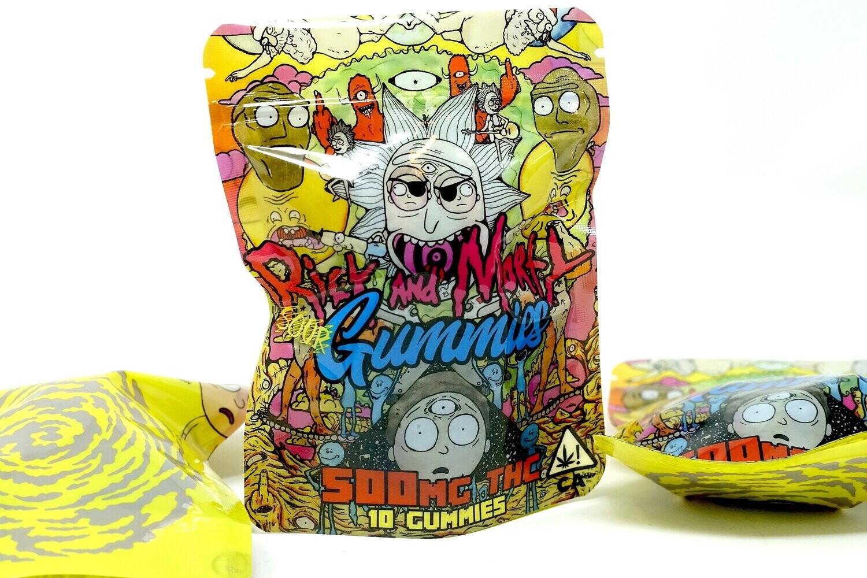 Rick Morty - Sour Gummies 500mg