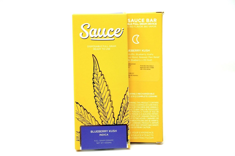 Sauce Bar Disposable - Blueberry Kush 1000mg