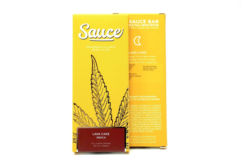Sauce Bar Disposable - Lava Cake 1000mg