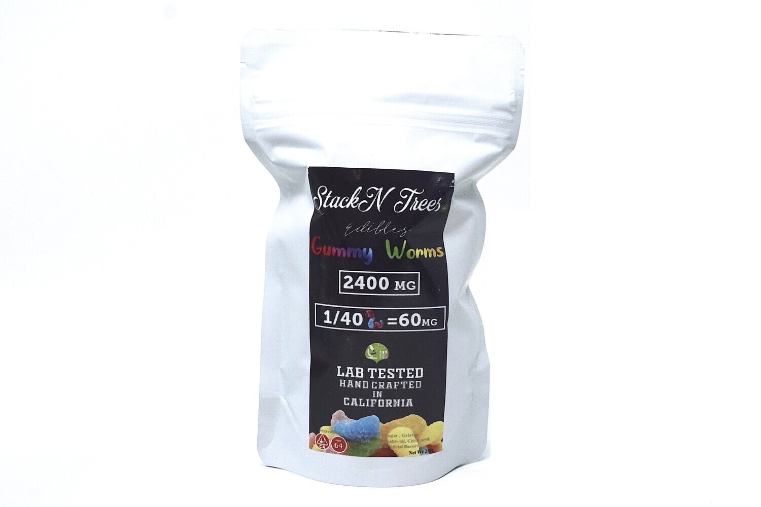 Stack N' Trees Gummy - Worms 2400mg