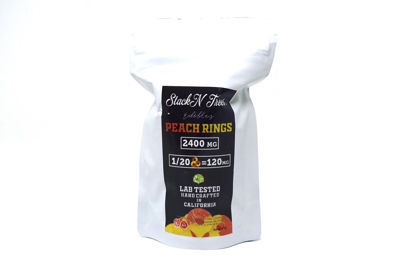 Stack N' Trees Rings - Peach 2400mg