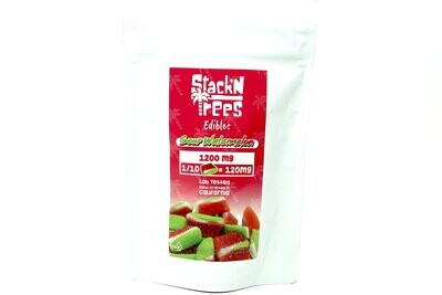 Stack N' Trees Gummy - Sour Watermelon 1200mg