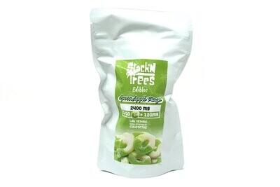 Stack N' Trees Rings - Green Apple 2400mg