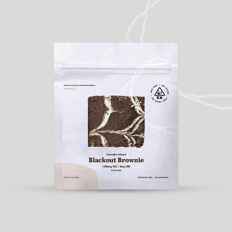 The Cookie Factory Brownie - Blackout 1000mg