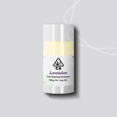 The Cookie Factory Ultra Balm - Lavender THC 500mg