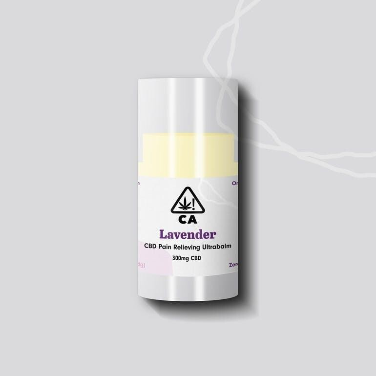 The Cookie Factory Ultra Balm - Lavender CBD 300mg