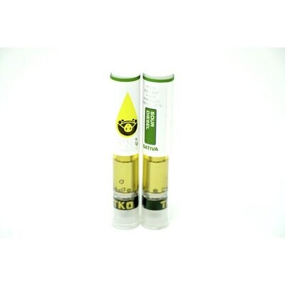 TKO Extracts Cartridge - Sour Diesel 1000mg