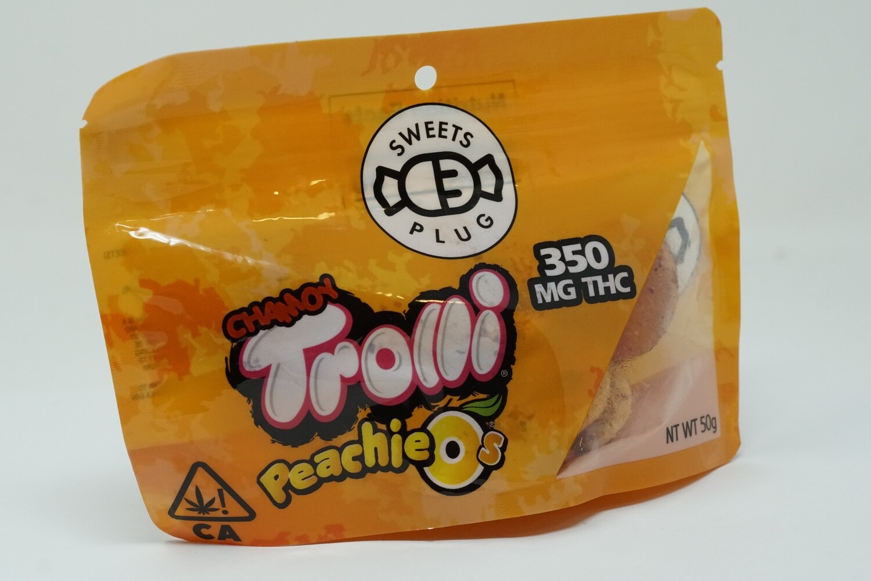 Sweets Plug - Chamoy Peachie O's 350mg