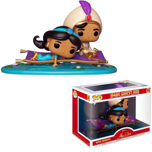 Magic Carpet Ride Aladdin Disney Funko Pop Movie Moment 480