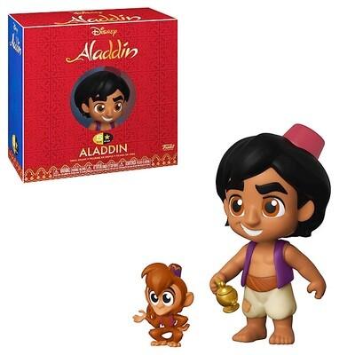 Aladdin with Lamp and Abu Disney Aladdin Funko 5-Star Figure