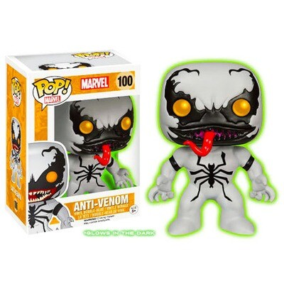 Anti-Venom (Glow in the Dark) Marvel Funko Pop BoxLunch Exclusive