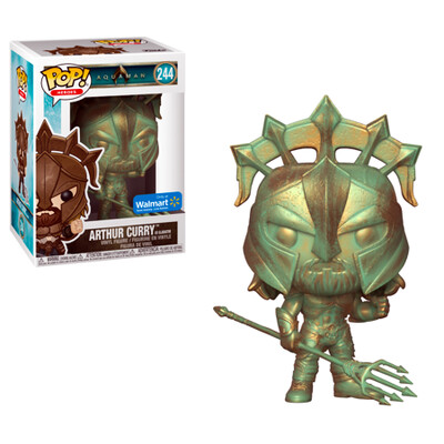 Arthur Curry as Gladiator Aquaman DC Funko Pop Heroes 244 [Patina] Walmart Exclusive