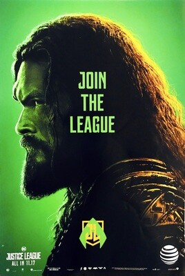 Aquaman Join the League Justice League DC Poster